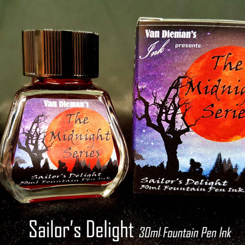 Sailor's Delight - Van Dieman's Fountain Pen Ink - Midnight Series