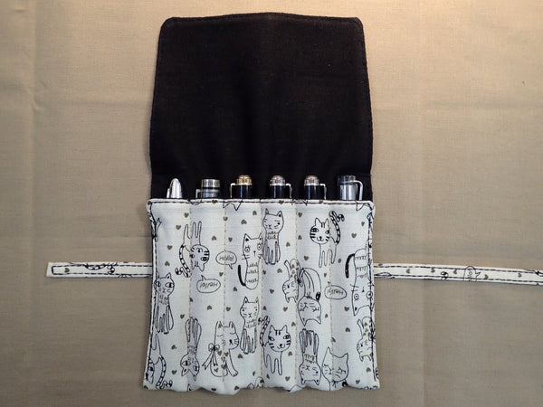 Lisa Hurring - Bespoke Pen Wraps & Pouches