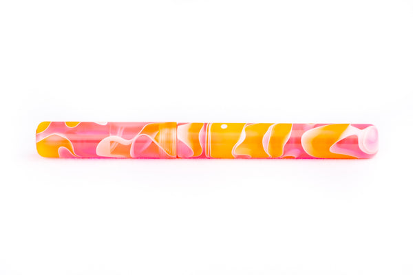 Stratos Tangerine Fountain Pen - James Finniss