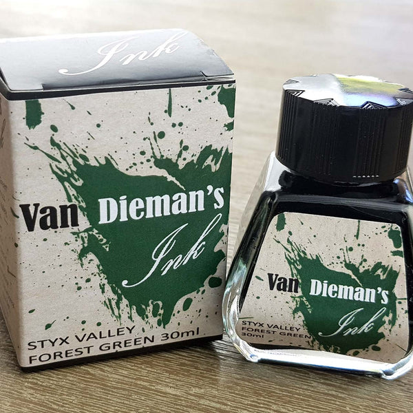 Styx Valley Forest Green - Van Dieman's Fountain Pen Ink - Original Series