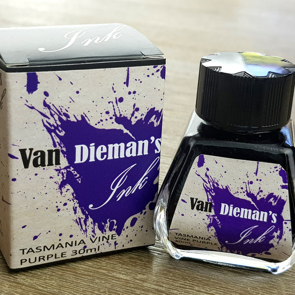 Tasmania Vine Purple - Van Dieman's Fountain Pen Ink - Original Series