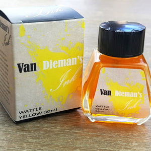 Wattle Yellow - Van Dieman's Fountain Pen Ink - Original Series