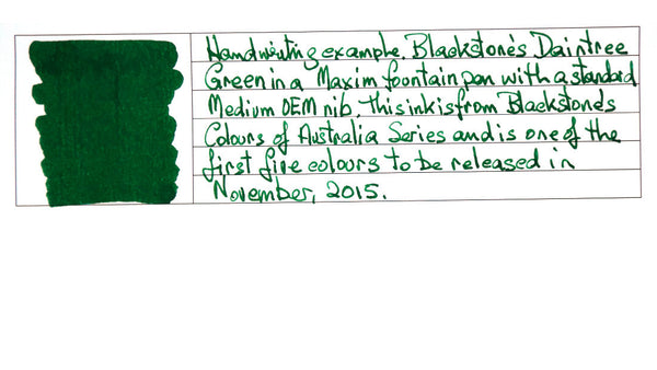 Daintree Green - Blackstone Ink