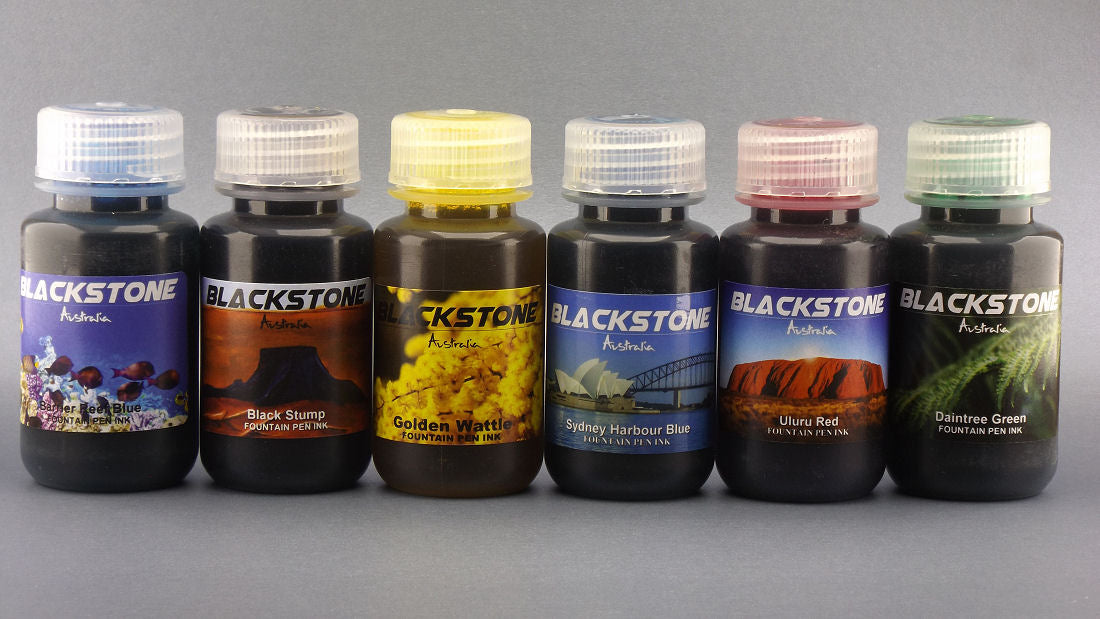 Colours of Australia - All Six Colours - Blackstone Ink