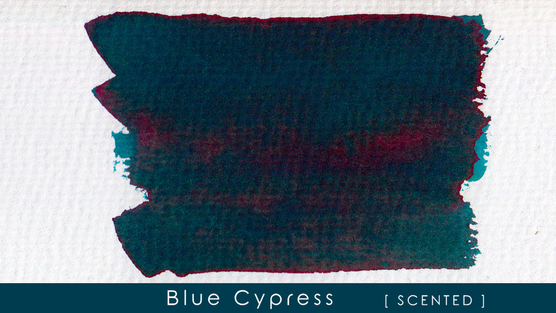 Blue Cypress - Scented Blackstone Ink