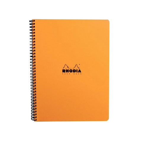 Rhodia - Classic Wire Bound Pad - Ruled - A5 - Orange