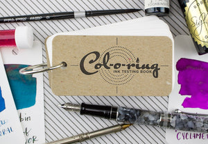 Col-O-Ring Ink Swatch Book
