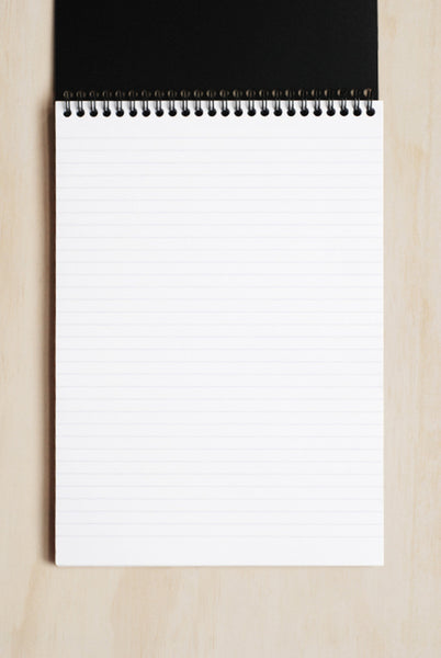 Rhodia - 'Rhodiactive' Wire Bound Pad - Ruled - A4 - Black
