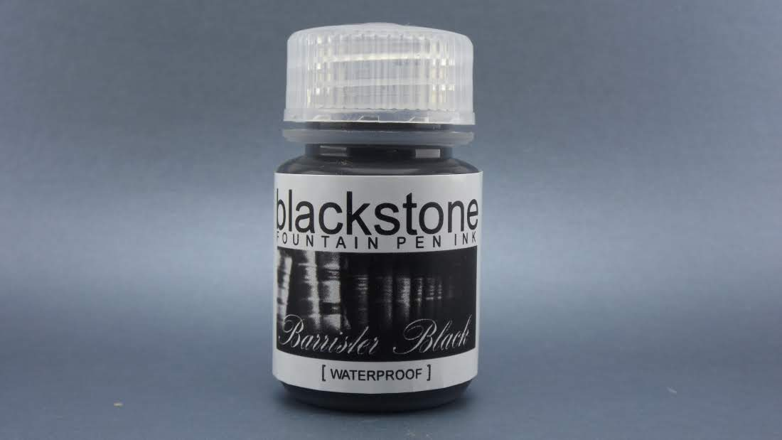 Barrister Black Waterproof - Blackstone Ink