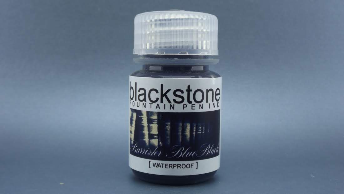 Barrister Blue-Black Waterproof - Blackstone Ink