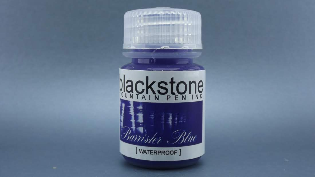 Barrister Blue Waterproof - Blackstone Ink