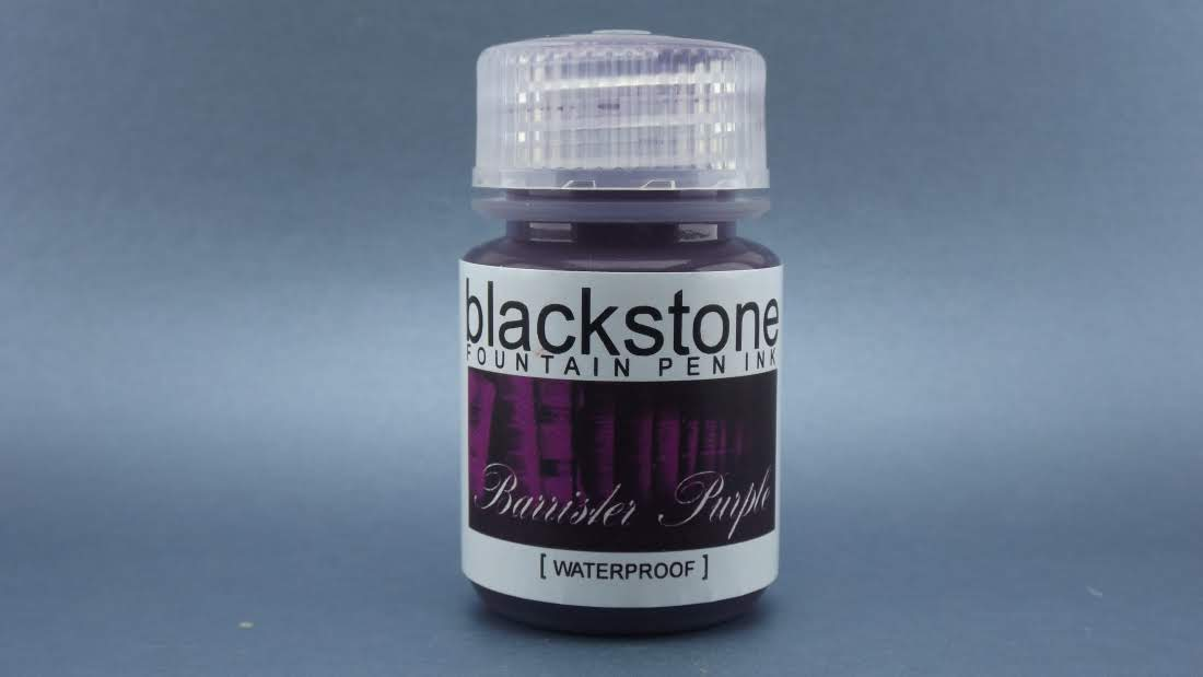 Barrister Purple Waterproof - Blackstone Ink