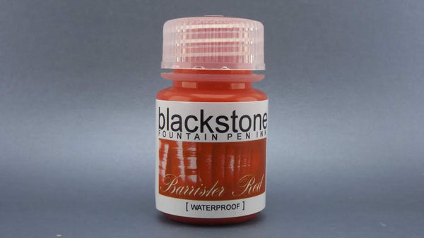 Barrister Red Waterproof - Blackstone Ink