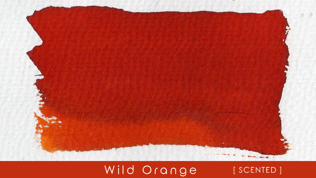 Wild Orange - Scented Blackstone Ink