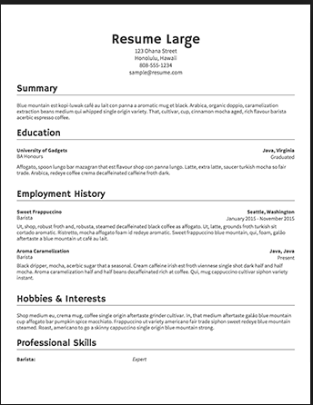 How to Write a Good Product Manager Resume ~ Product Gym | Product ...