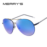 MERRY'S Fashion Women Sunglasses Classic Shades Brand Designer Sun glasses Luxury Double-Bridge Sunglasses UV400