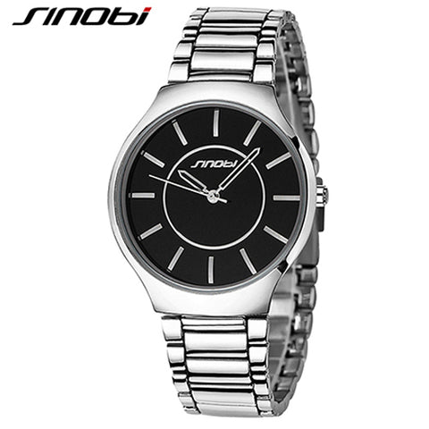 Luxury Top Brand Men's Boy Military Dress JAPAN Quartz Steel Watches Men Casual Clock Male Wristwatch Relogio Masculino SINOBI
