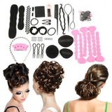 New Magic Hair Clip Style Accessory Tool Pads Foam Sponge Bun Donut Hairpins Top Quality