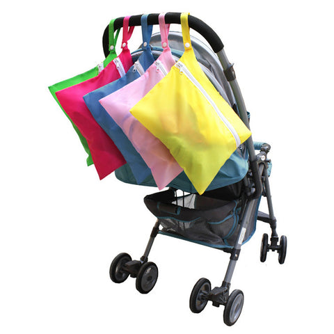 Portable Waterproof Baby Stroller Nappy Storage Bag for Diaper Baby Clothes Stroller Accessories Bags Activity & Gear Big Props