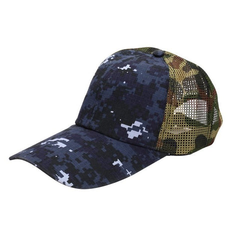 Men Women Desert Camo Cap Hunting Fishing Hat Army Baseball Hat Caps LM75