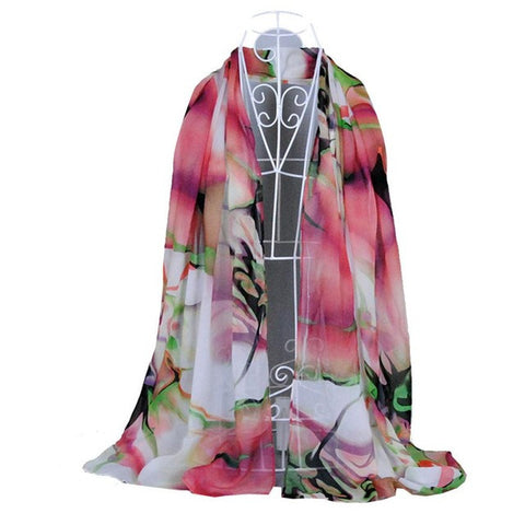 JECKSION Fashion Lady Long Wrap Women's Shawl Chiffon Scarf Scarves #LSIN