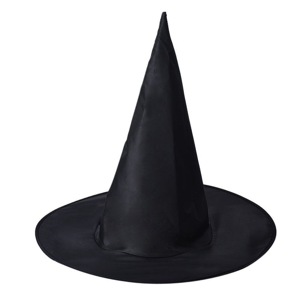 JECKSION 2016 1Pc Adult Womens Black Witch Hat For Halloween Costume Accessory