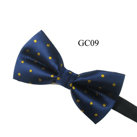 Men's Vintage Pre Tied Knit Bow Tie Clip On Jacquard Woven Necktie Tie 13 Colors