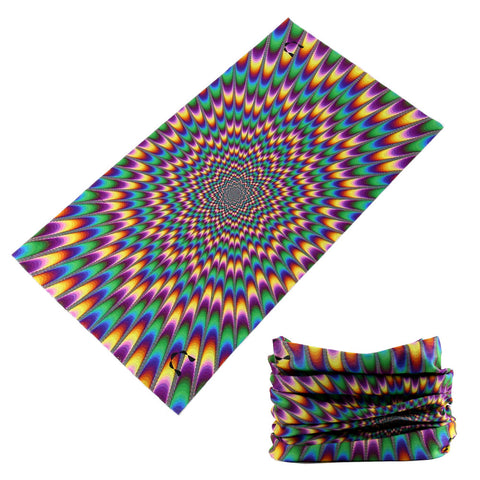 721-740 Latest Fashional Skull Polyester Microfiber Magic Tube Headwears Skeleton Multi Purpose  Seamless Bandanas