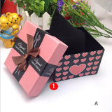Hot Selling Durable Present Gift Box Case For Bracelet Bangle Jewelry Watch Box saat kutusu &03