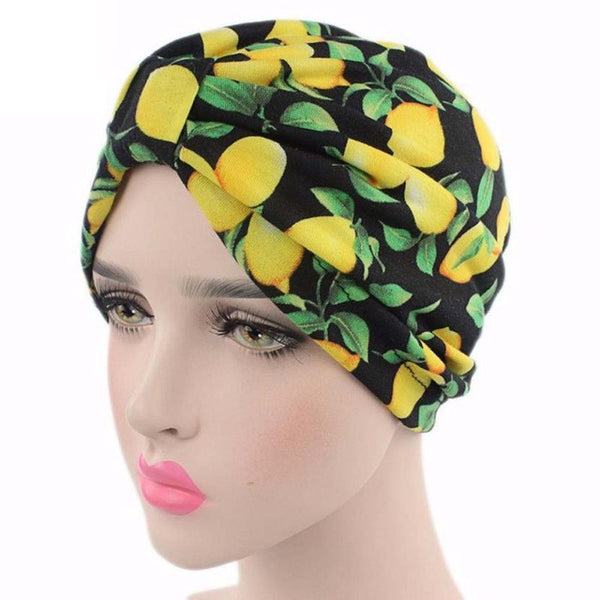 2017 Fashion Knitted hat Women Flower Printing Cancer Chemo Hat Beanie Scarf Turban Head Wrap Cap Fitted women beanies skullies