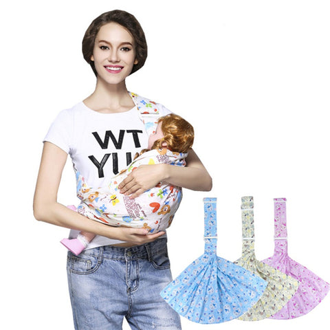 newborn front facing breathable soft infant wrap activity gear carriers pouch breast feeding sling baby pouch carrier backpack