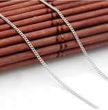 Wholesale 100% Real Pure 925 Sterling Silver necklace box chain.TOP quality Fine Jewelry free shipping,GLN582032