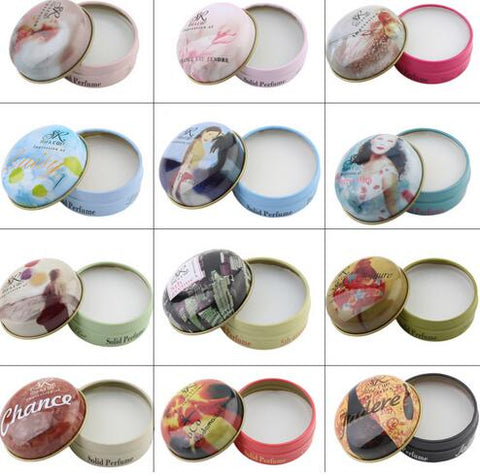 SR MAKE UP 1pcs Fresh Oriental Fragrance Perfume Magic Balm Solid Perfumes And Fragrances Deodorant Fragrance