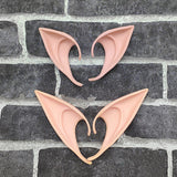 Elf Ears fairy Cosplay Accessories LARP Halloween Party Latex Soft Pointed Prosthetic False ears Free shipping For men women