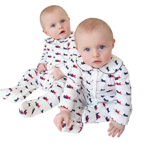 Newborn Baby clothes Boys Girls One-piece Print Romper Jumpsuit Outfits Clothes baby rompers drop shipping