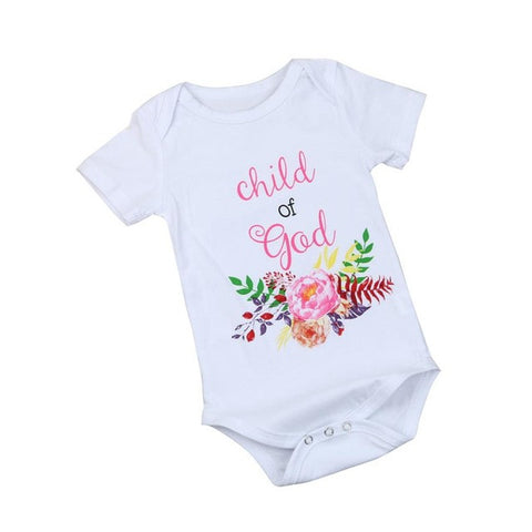 Baby Girl Rompers Summer Girls Clothing Roupas Bebes Flower Print Newborn Baby Clothes Cute Baby Jumpsuits Infant Girls Clothing