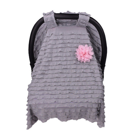 Baby Car Seat cover sun Canopy stroller accessories Baby Infant Nursing Cover sun canopies Sunshade Hood shield Cloth