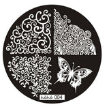 Nail Art ColorWomen 1pc Butterfly Pattern Nail Stamping Printing Plate Image Stamps Plate Manicure Nail Art