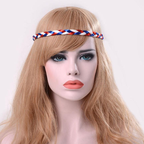 Fashion 3 Colors Weave Headband Fashion Boho Ladies Braid Hair Head Band For Women Beach Party Headbands haar accessoires