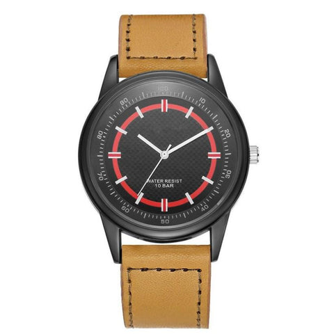 GAIETY Men Watch Leather Analog Quartz Watches Watches Men Sports Quartz-watch Relogio Masculino