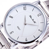 New Unisex Watches Quartz Trendy Wrist Watch Stainless Steel Watches