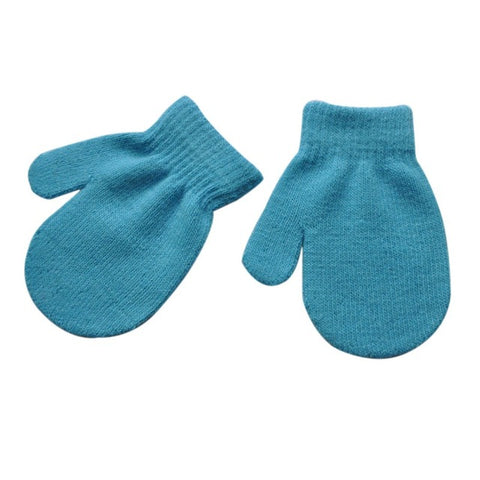 2-6 Years Children Knitting Gloves Autumn Winter Unisex Kids Boys Girls Toddler Soft Cute Knitted Mittens eldiven