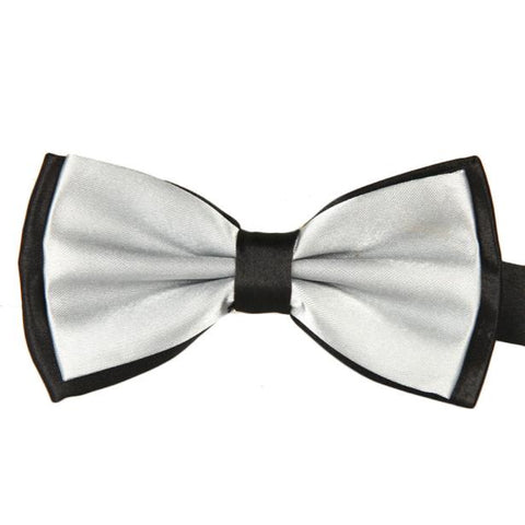 Feitong Brand 2017 Men Satin Adjustable Bowtie Tuxedo Wedding Bow Tie Necktie