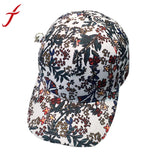 Flower Printing Pattern Baseball Cap Women Men Hats 2017 Fashion trends Hip Hop Snapback Caps Bone