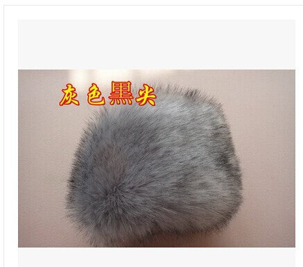 Free shipping Cotton wool-like thickening male ms winter earmuffs lei feng's cap hat Northeast warm wind and snow ski cap