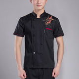 Popular Sale Chef Uniforms Clothing Restaurant Kitchen Cooking Clothes Food Service Jacket Unisex Work Wear