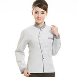 Long Sleeve Womens Work Wear Breathable Hotel Housekeeping Clothing Uniforms Fashion Beauty Salon Nursing Scrubs Clothes