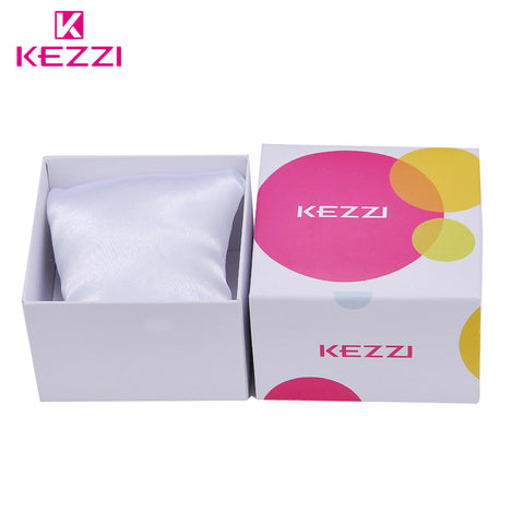 KEZZI Gift Case Fashion Watches Original Cases Women Watch Accessory Quartz-Watch Boxs Protection Sqaure Box Ladies Wristwatch