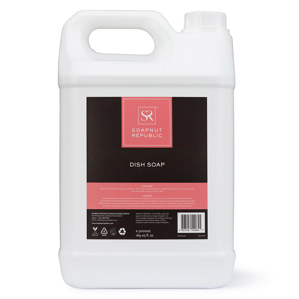 Dish Soap - Grapefruit Essential Oil (5L) | 西柚精油洗碗液 (5L)