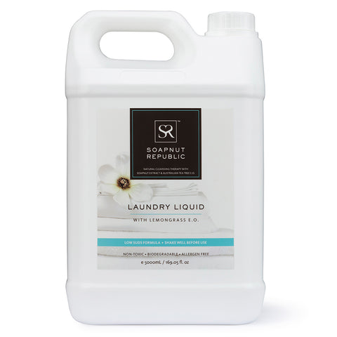 Laundry Liquid - Lemongrass Essential Oil (5L) | 檸檬草精油洗衣液 (5L)